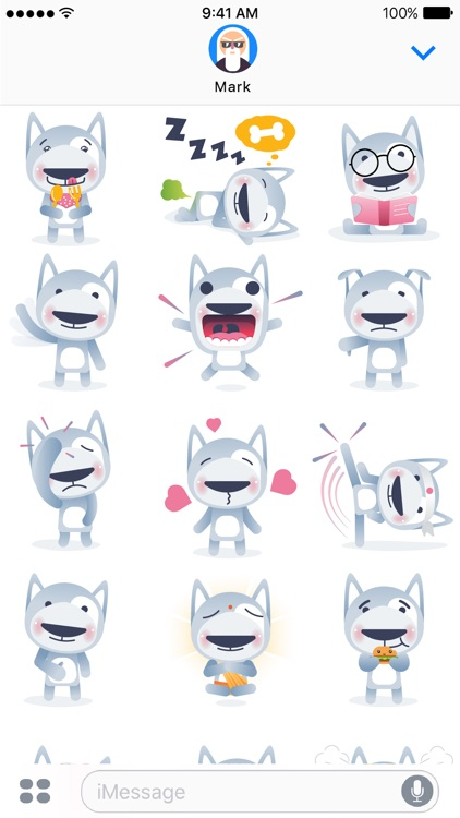 Wolfy The Dog - Sticker Pack