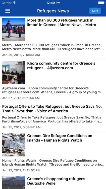 Greek News in English & Greece Radio Free screenshot-3