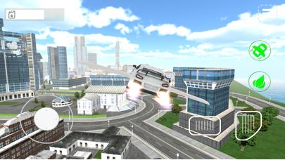 Fly-ing Sports Car Sim-ulator 3Dのおすすめ画像4
