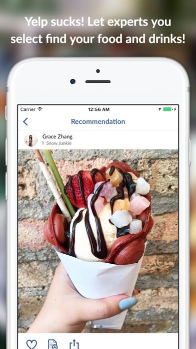 Zipkick Food Drink Wine Review screenshot one
