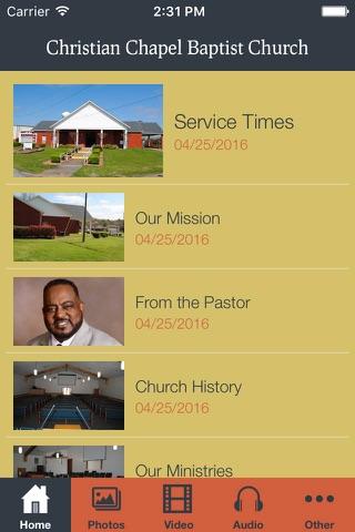 Christian Chapel Baptist Church - náhled