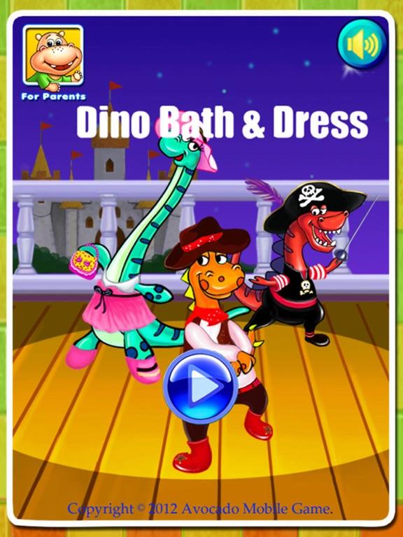 Dino Bath & Dress Up- Potty training app for kids-ipad-4