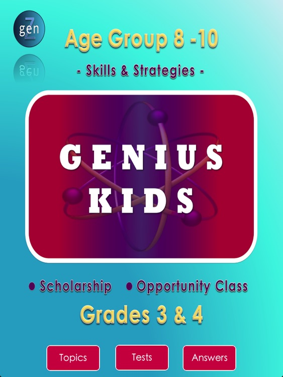Genius Kids Y3&4