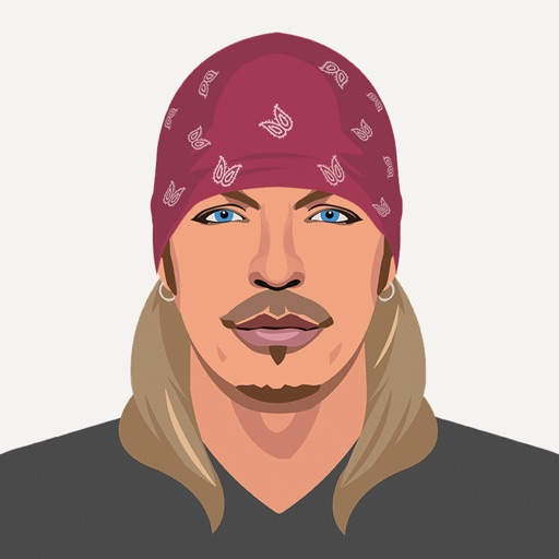 Bret Michaels Emojis + Lyric Keyboard