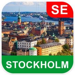 Stockholm, Sweden Offline Map - PLACE STARS