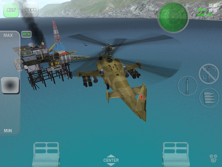 Helicopter sim Black Shark HD