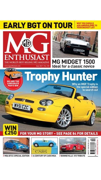 MG Enthusiast Magazine