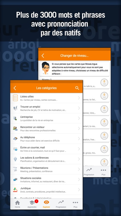 Learn Business English with MosaLingua screenshot-3