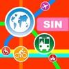 Singapore シティマップス - ニューヨークを SIN を MRT,Travel Guide - iPhoneアプリ