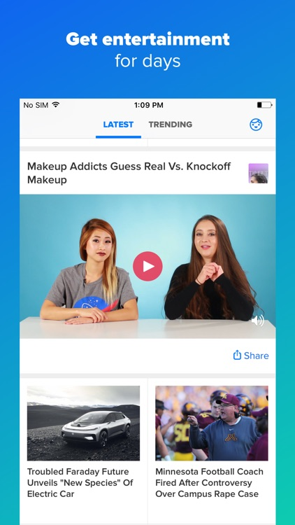 BuzzFeed — Quizzes, Video, News, and beyond screenshot-4