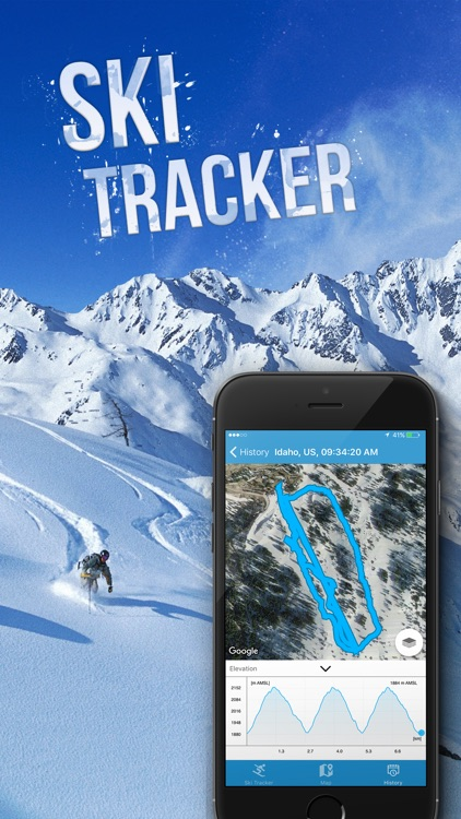 EXA Ski Tracker screenshot-0