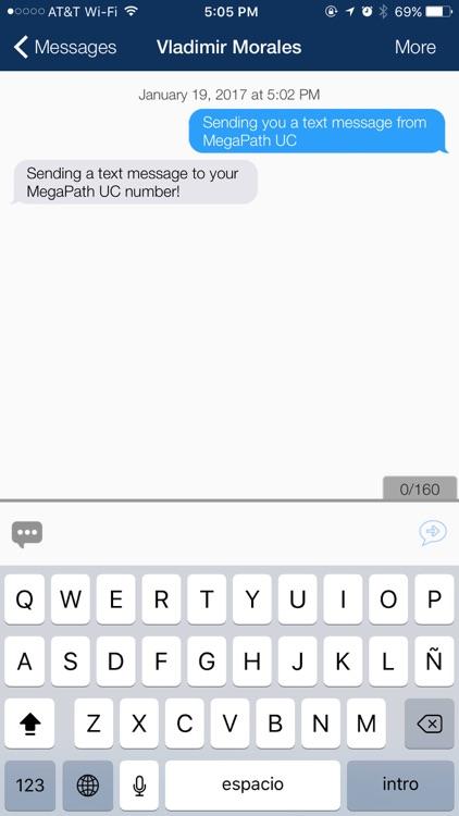 MegaPath UC screenshot-3