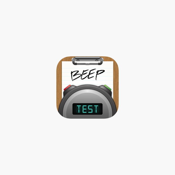 Beep Test On The App Store