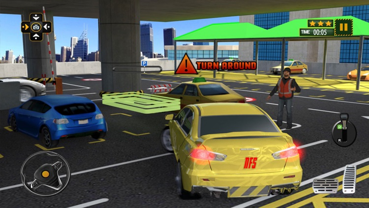 Multi Level Car Parking Spot: Driving School Game