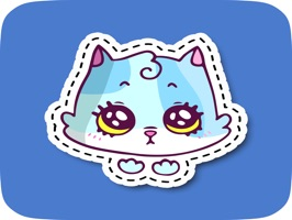 Huge Colorful Stickers for Messaging