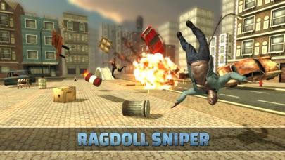Ragdoll Sniper Shooter screenshot one