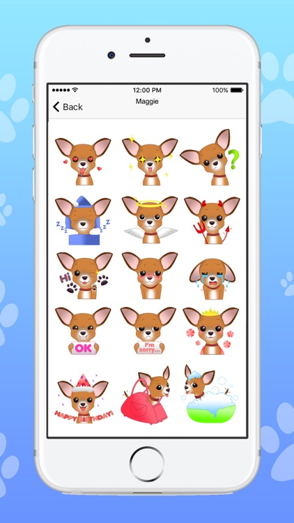 ChihuaMoji - Stickers & Keyboard for Chihuahuas