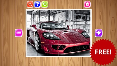 Sport Cars Jigsaw Puzzle Game For Kids and Adults screenshot one