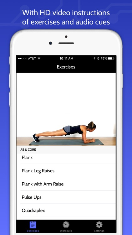 Ab & Core Daily Workout Trainer by FitCircuit