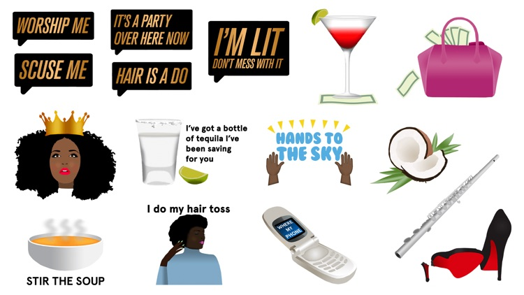Lizzo: Coconut Oil Sticker Pack