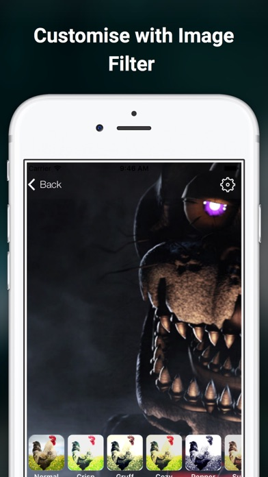 wallpapers for FNAF - Five Nights at Freddy filter | App