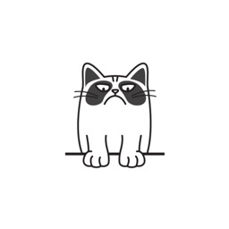 Grumpmoji 3 - grumpy cat emoji stickers