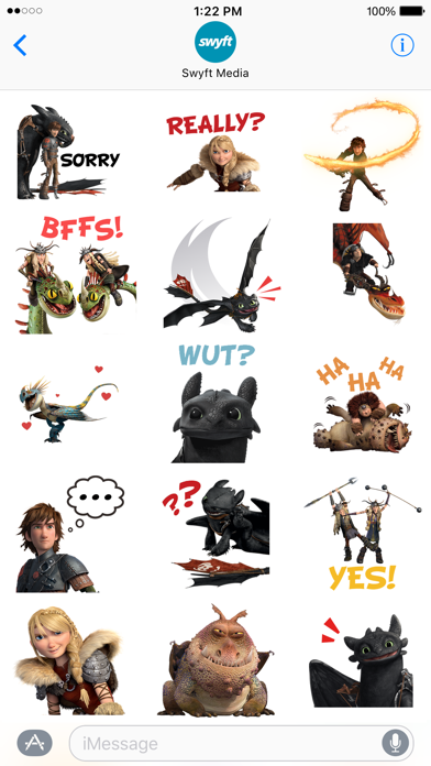 How To Train Your Dragon Stickers screenshot 4