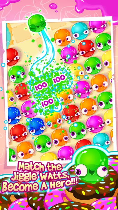 JIGGLE WATTS -JELLY MATCH GAME screenshot one