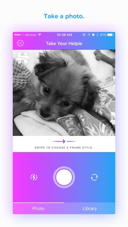 Helpie Photo App