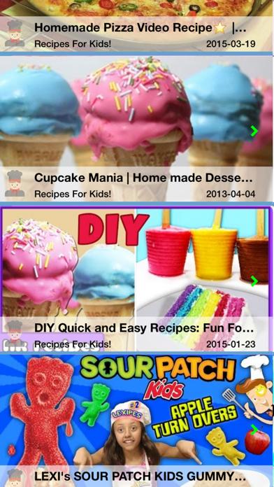Easy Recipes for Kids screenshot one