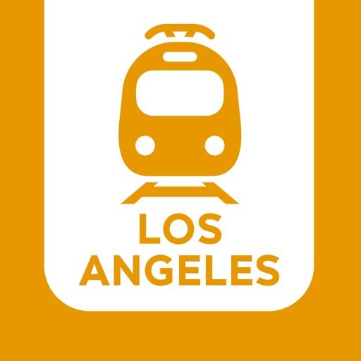 Los Angeles Subway Map New.Metro Los Angeles Lacmta Offline Subway Maps By Samuel Ferrier