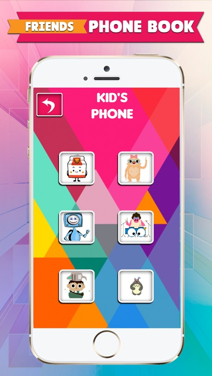 Kids Play Phone For Fun With Musical Games