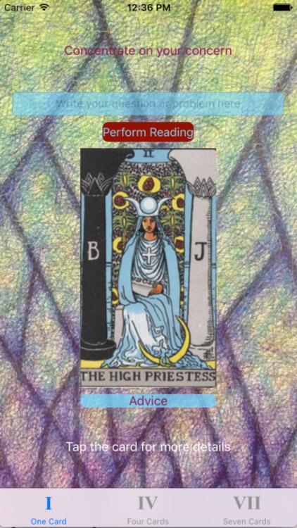 Tarot Card Reader Clear