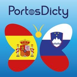 PortosDicty Diccionario Español Esloveno, Slovensko španski slovar - Free
