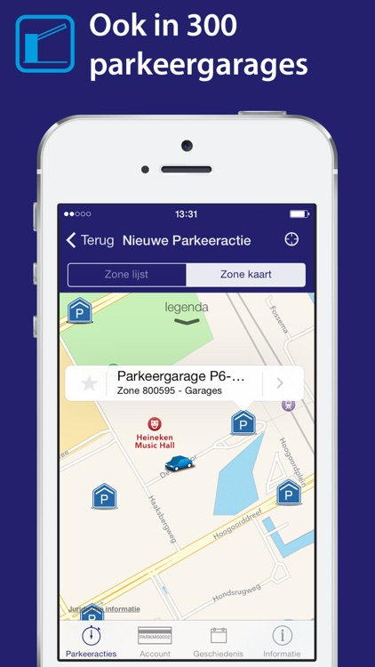 Park-line App screenshot-3