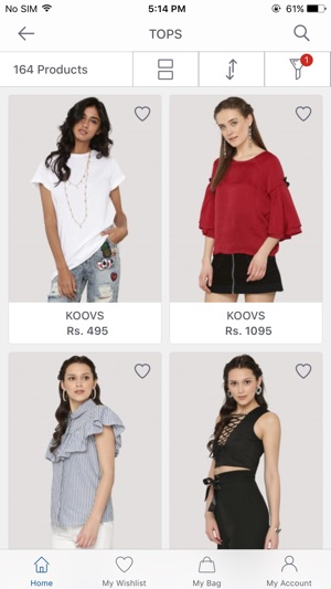 c04826a4c8a Koovs - Online Shopping App on the App Store