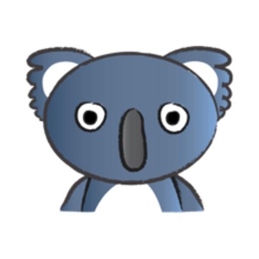Round Koala Bear stickers by wenpei