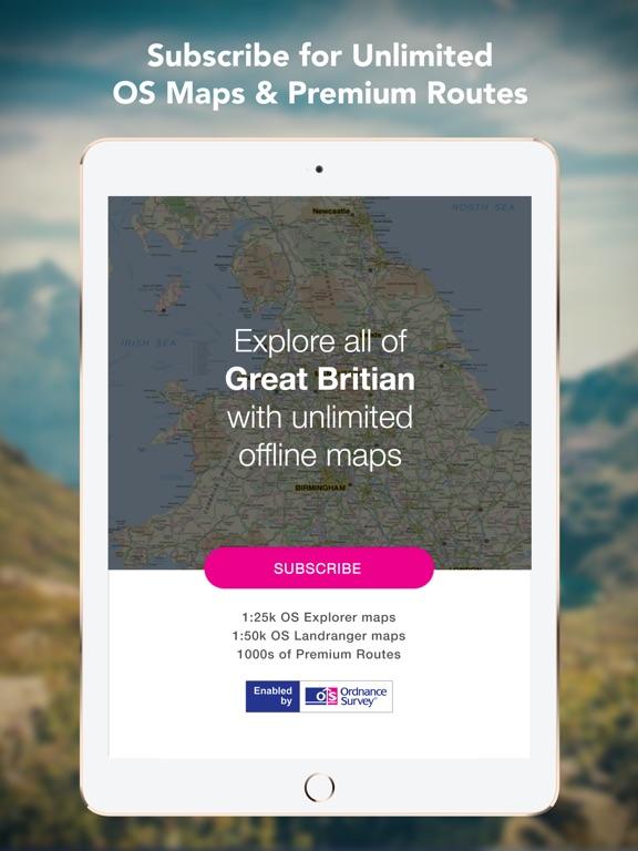 Outdoors GPS – Offline OS Maps Скриншоты11