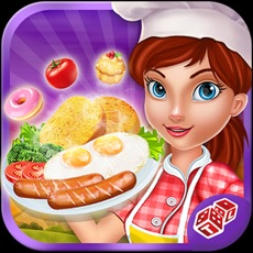 Activities of Breakfast Cooking Mania: Master Chef In Restaurant