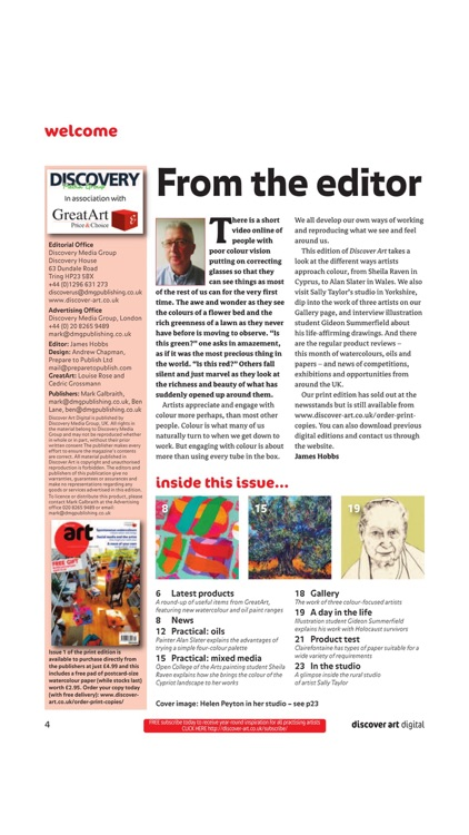 Discover Art – The Magazine For All Practising Artists screenshot-3