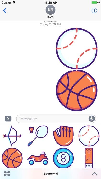 SportsMoji - All Sports Stickers