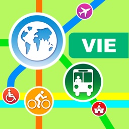 Vienna City Maps - Discover VIE with MRT,Bus,Guide