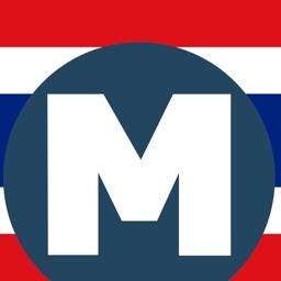 Thai Subway (MRT) - เส้นทางเดินรถไฟใต้ดินไทย