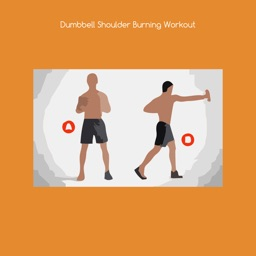 Dumbbell shoulder burning workout