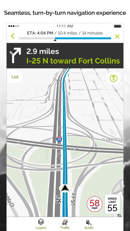 MapQuest: Navigation, GPS, Maps & Traffic screenshot-0