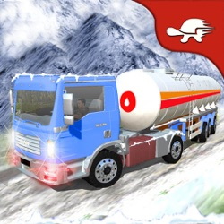 Extreme Winter Drive: Snow Oil Tanker Supply Truck