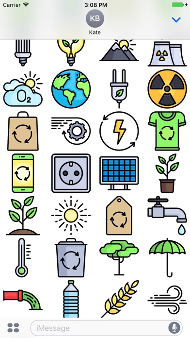 Ecology Stickers - Emoji For Environmentalists-2