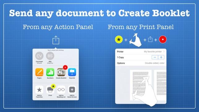 Create Booklet