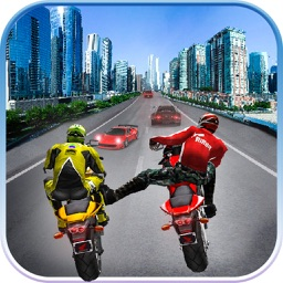 Traffic Highway Rider - Top Motorcycle Racing Game