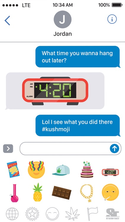 Kushmoji screenshot-0